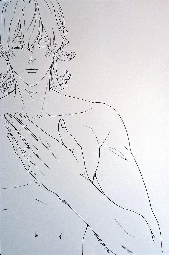 昨日ツイートしたお話に、みのる様(@minoru_takamura)がイラストを描いてくださいました(´;ω;`) うう、こんな美しいポスター見たら絶対泣いてしまう… #グラビアBBJ
