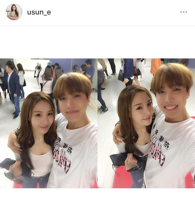 Bts Sg On Twitter Insta Jhope Sister S Friend Posted