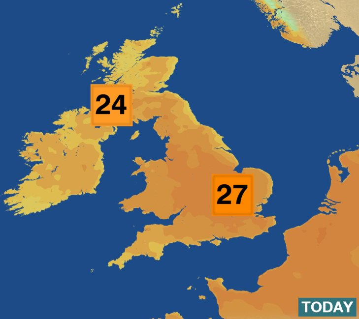bbc weather on twitter 22c already in kings lynn. Black Bedroom Furniture Sets. Home Design Ideas