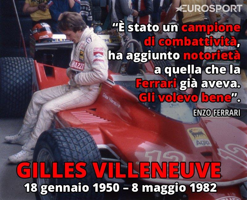 34 anni fa moriva in pista uno dei piloti più talentuosi e amati della storia...  #GillesVilleneuve