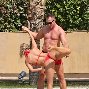 Jordan thong bikini