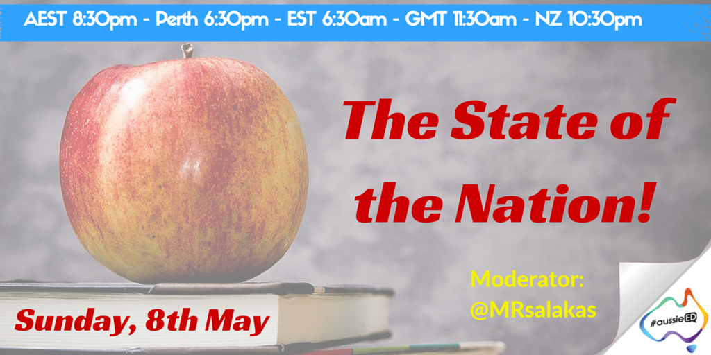 Starting right now... come join #aussieED https://t.co/9LwpwnxKU5