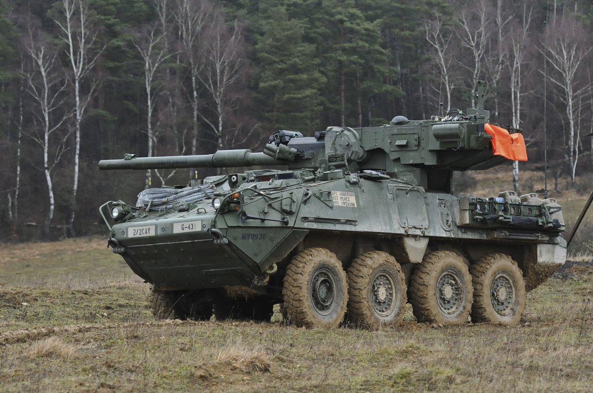 VSTANKにM1128がラインナップされたら光の速さで買うのに!(これは戦車と言っていいのかわからないけど