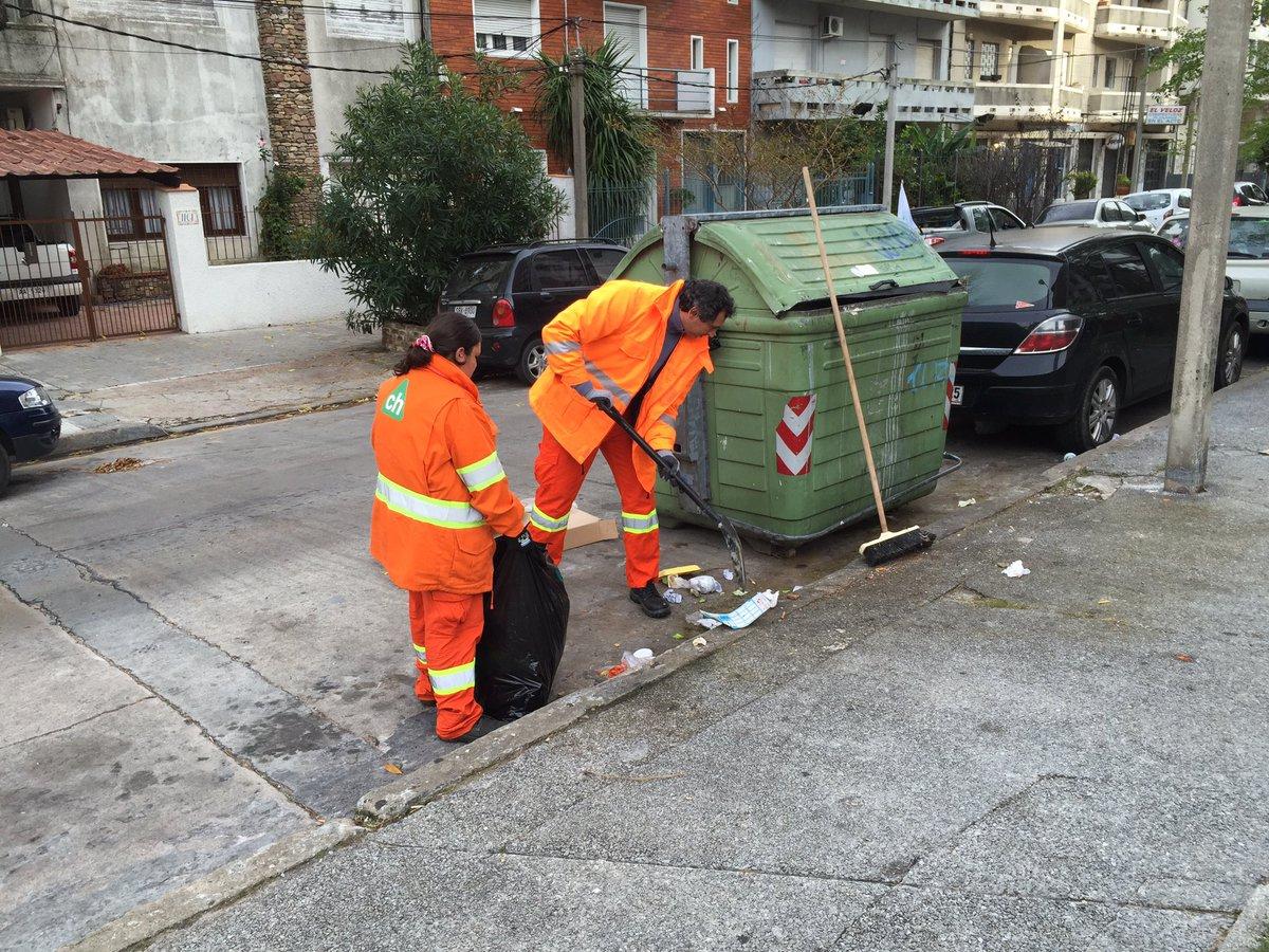 Montevideo en crisis por la basura, 1.080 ton. en 15 horas