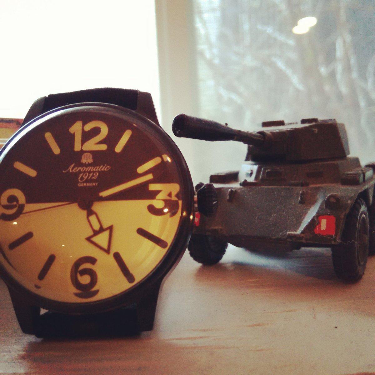 Aeromatic German Watch With Army Miniature Tank Few Left At 189 Uigwatch Pictwitter Gq5DeqOXmm
