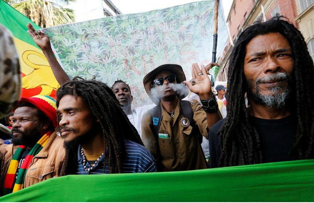 Thousands take Part in Pro-Cannabis Protests in South Africa