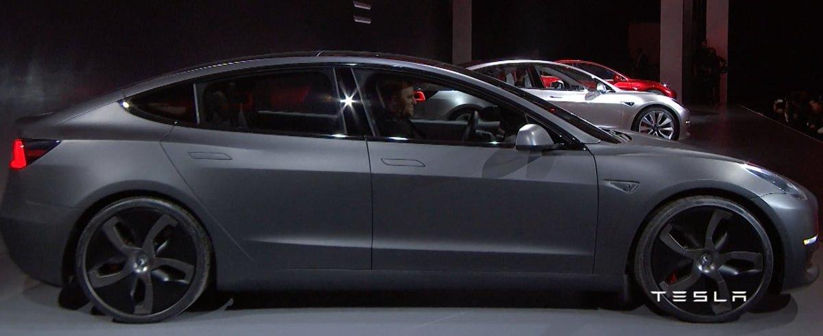 Tesla Model 3 News on Twitter: \