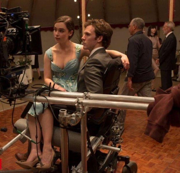 Yo antes de ti scans de total films entrevista en espa ol - Pelicula francesa silla ruedas ...