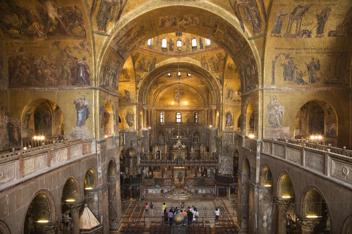 Sava janjic on twitter amazing cathedral of st mark the for Interno basilica san marco