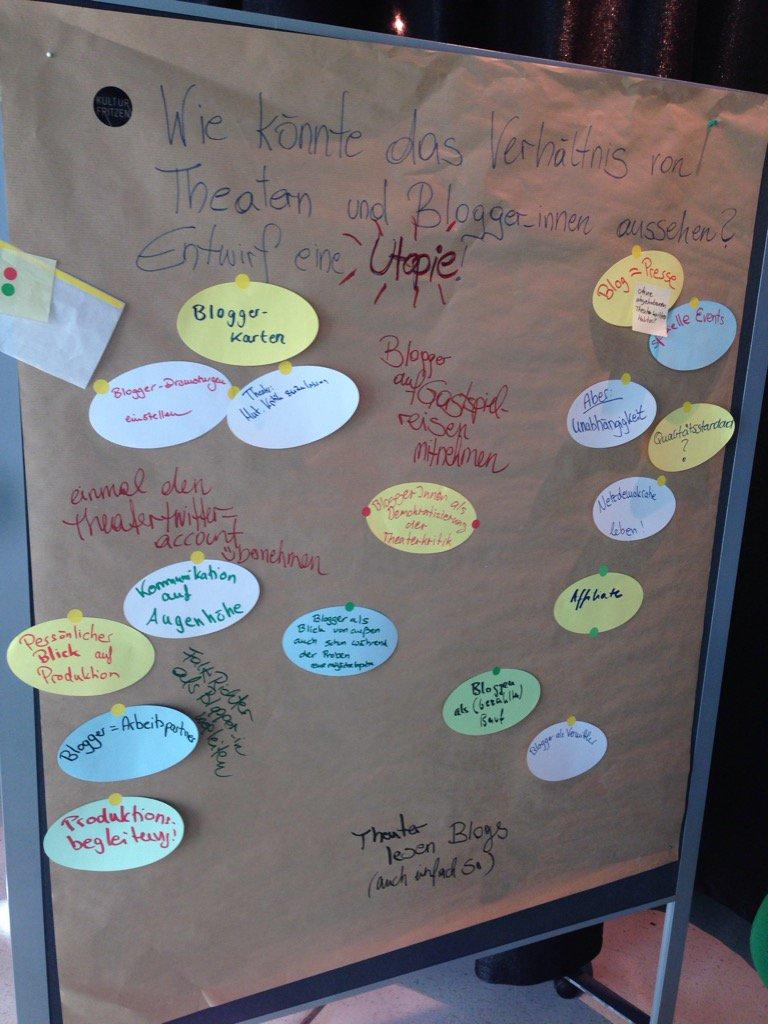#tn16 Nachgereicht: Brainstorming-Ergebnisse #Bloggercafé I https://t.co/tptzZdQQY6