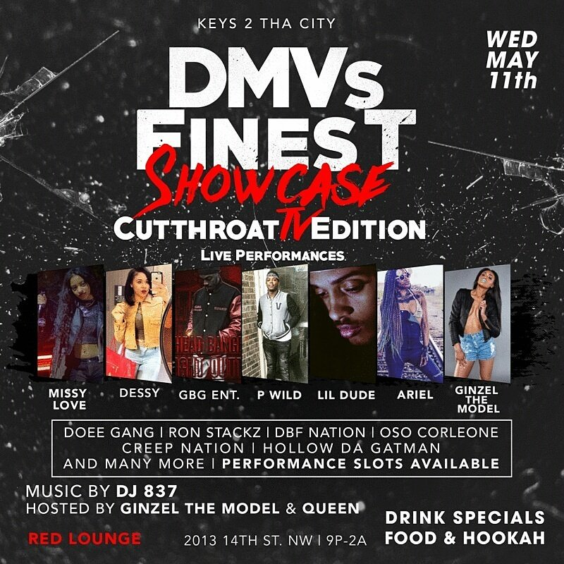 @Keondoee performing this Wednesday #DMVsFinest https://t.co/XsBcid0AK6