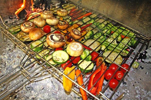 Овощи на костре рецепты с фото