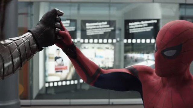 Capitan America Civil War, il trailer con l'uomo ragno (spiderman)