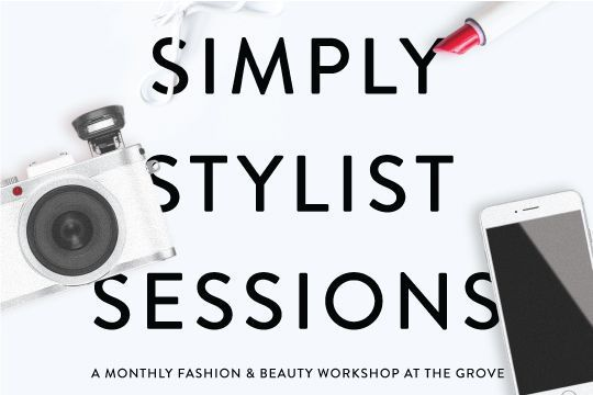 Aspiring bloggers! Join @simplystylistxo + @tagspire for a monetization workshop 5/14! Tix: https://t.co/oM2Vk8kXGM https://t.co/pQObhiWqfg