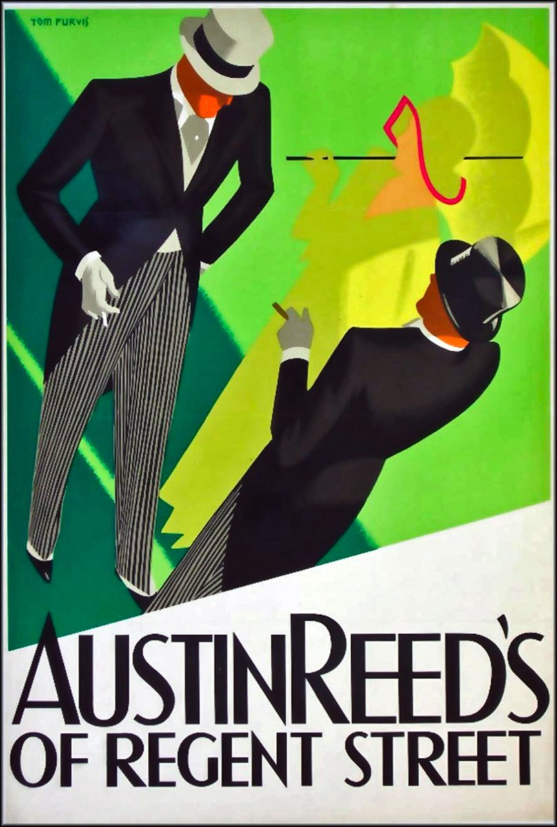 Flashbak Com On Twitter Austin Reed Of Regent Street Ads From The Late 1920s Illustrated By The Bristol Born Tom Purvis