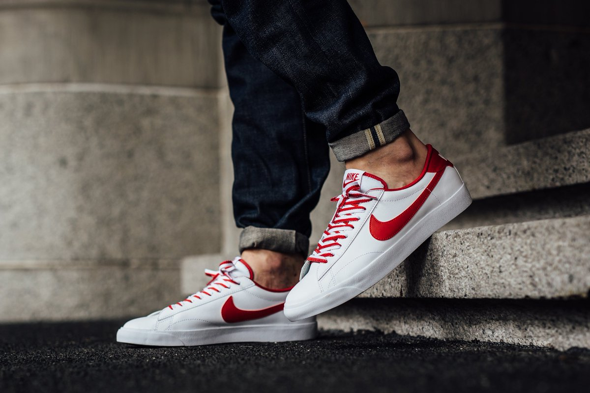 best value e0321 b93df Nike Tennis Classic AC - White Gym Red-Gum Med Brown Available now at  Titolo SHOP HERE http   bit.ly 1NODCAt pic.twitter.com m903iM9oWa