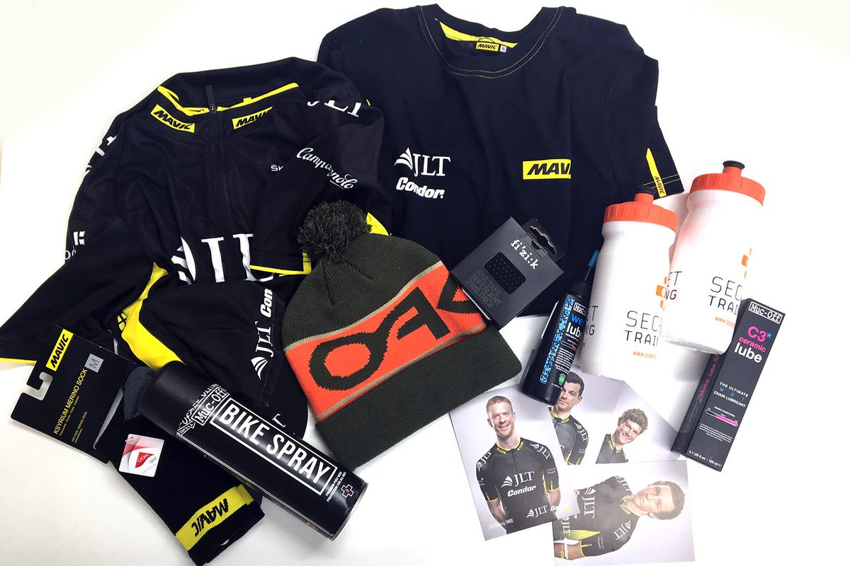 Win! Win! Our #TourdeYorkshire comp. Hit RETWEET to win this awesome stuff. https://t.co/Cw31zsqAwy