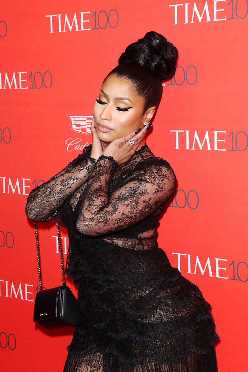 Amazing performance from the influential @NICKIMINAJ #TIME100 https://t.co/QeNCXhOSHD