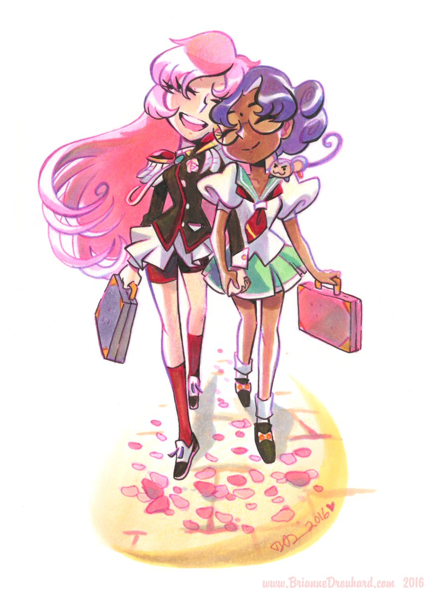 ❤️ Piece for the Revolutionary Girl Utena tribute show at @QPopshop , opening night this Sat 30th 7pm-10pm ❤️ https://t.co/FmePOiLnkC