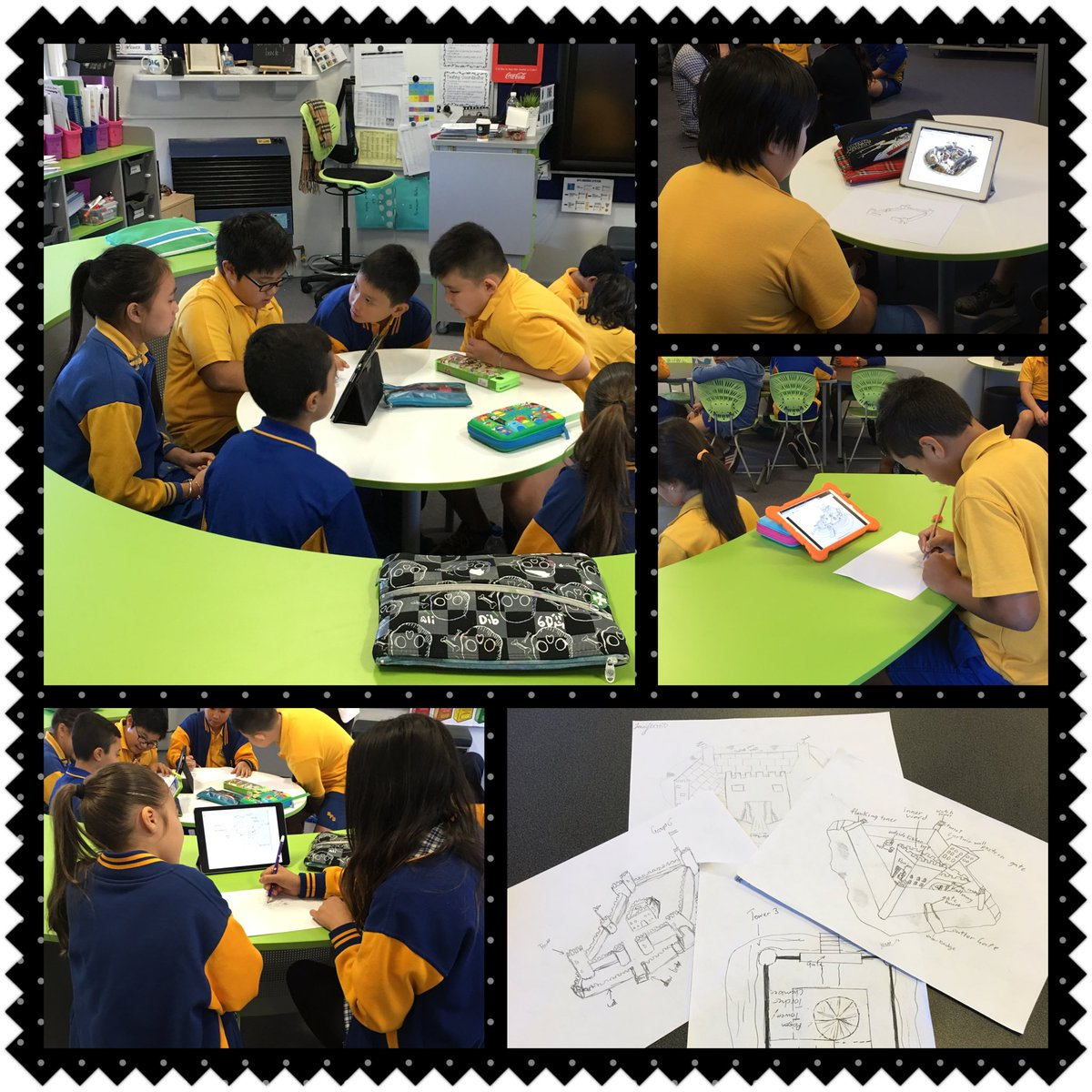 #TheLearningHub engage in #GDD16 designing castle floor plans. Next step is to make our castles! https://t.co/M8jSbXr4jf