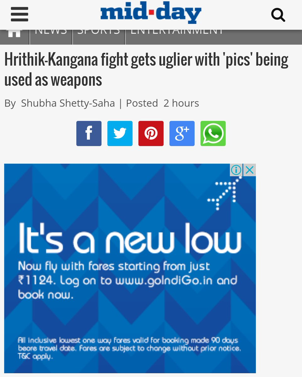 Context sensitive advertising by @IndiGo6E and @mid_day.