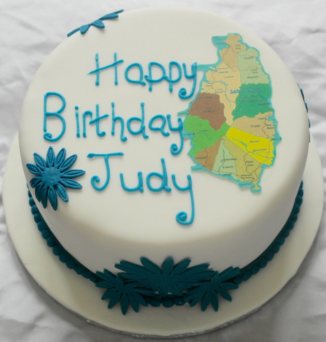 Caribbean Cupcakes On Twitter Happy Birthday Judy Rum Cake With