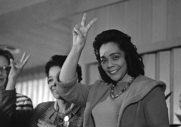 Happy Birthday Coretta Scott King!!  #RIP https://t.co/Cgfrklr7Gp