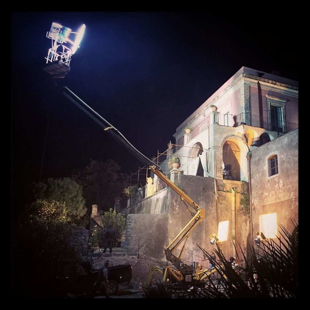 """Shot in Sicily"" (3/3) Our Sicilian villa as a movie set #locationshooting #spotlight The … https://t.co/knqBAAkOJs"