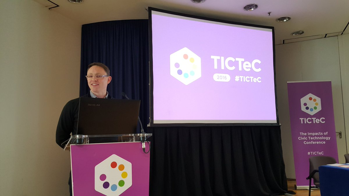 Woooo! #TICTeC 2016 underway! https://t.co/VoWG1ElOA9