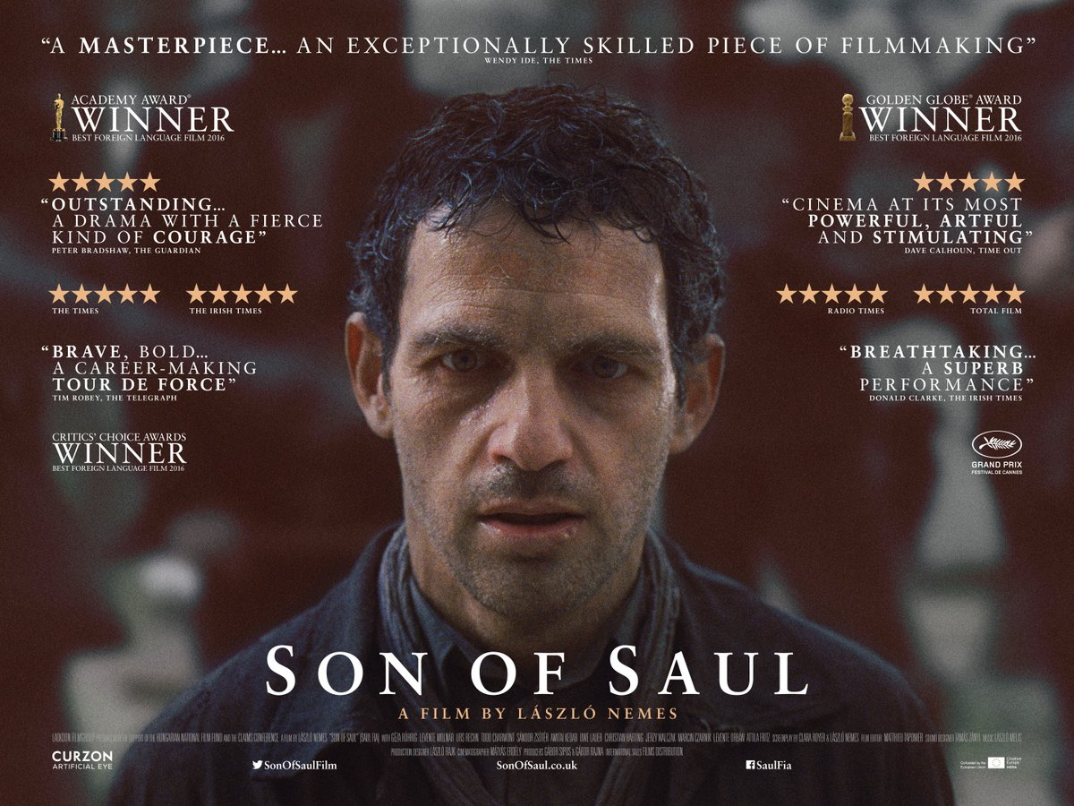 The most acclaimed film of the year is showing from Friday... @sonofsaulfilm https://t.co/S6eqcQ1sMO