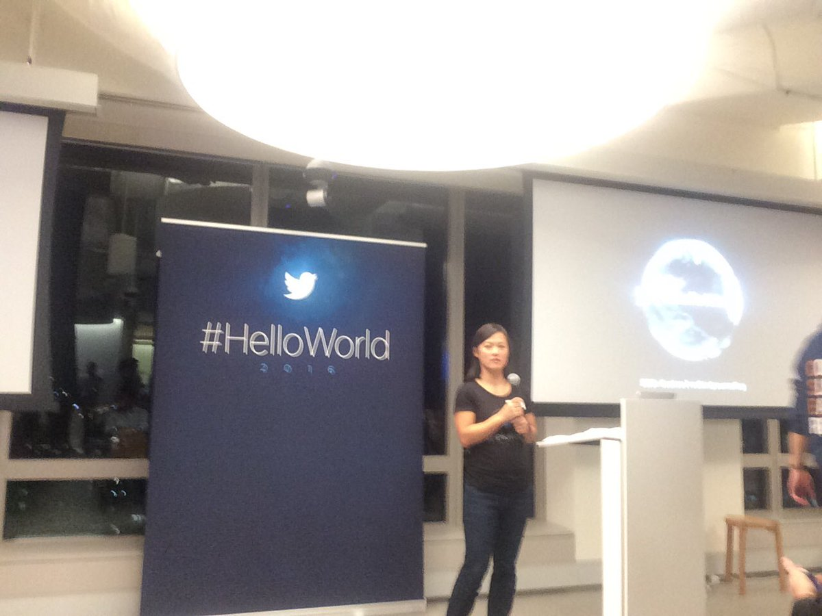 Listening to @JennyGoodridge @TwitterAU #HelloWorld https://t.co/neNcMM9DpD