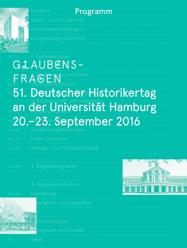 Das Programm des 51. Historikertags (@historikertag) ist online: https://t.co/Cl3dcE7Lbk #histTag16 https://t.co/VoDvsOaKNd