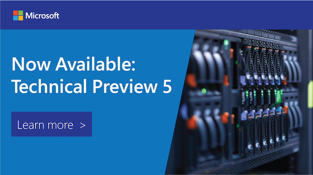 Announcing #SysCtr & #WinServ 2016 TP5—the latest in #hybridcloud management & security: https://t.co/mH3Hg8QSLz https://t.co/ezu30kKyKC