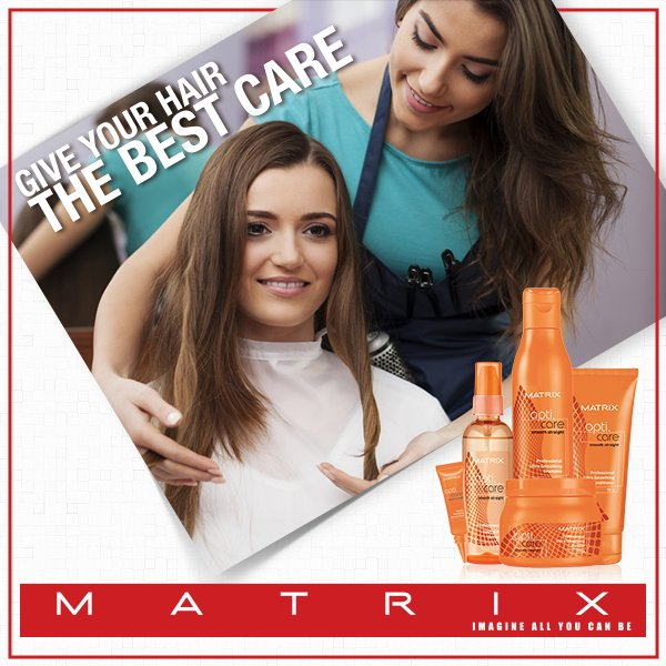 Taking care of your hair should never be a problem! Head straight to a Matrix salon near you today! https://t.co/ELLicglZgu