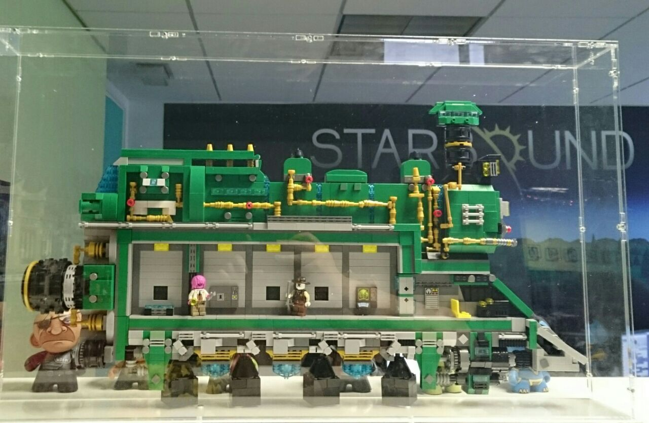 starbound on twitter check out the amazing lego novakid ship that was built for us by evan. Black Bedroom Furniture Sets. Home Design Ideas