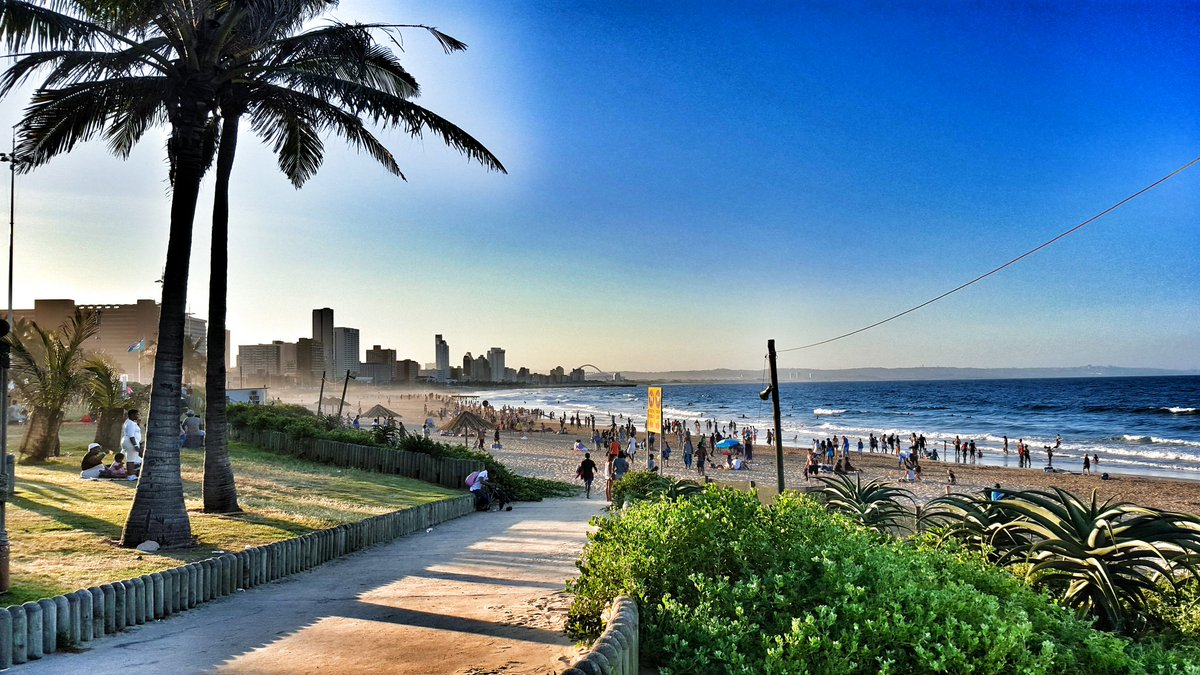 Stunner of a #FreedomDay in #Durban!