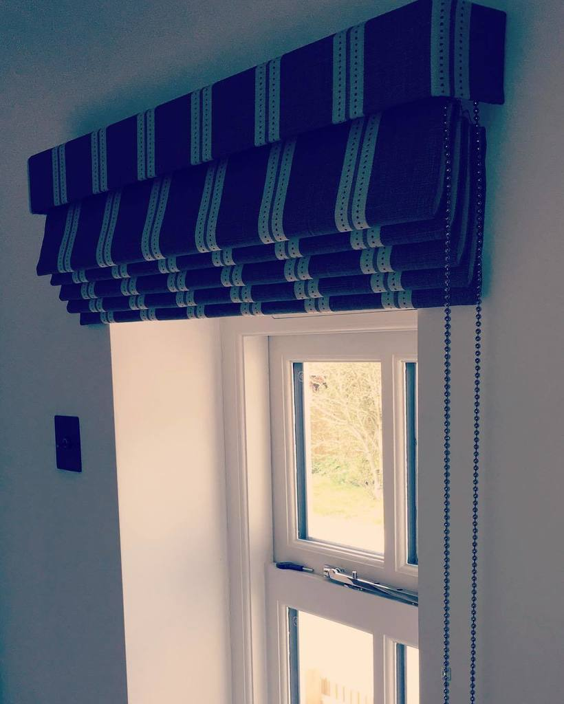 Denton drapes on twitter cascading roman blind with for Blinds outside recess