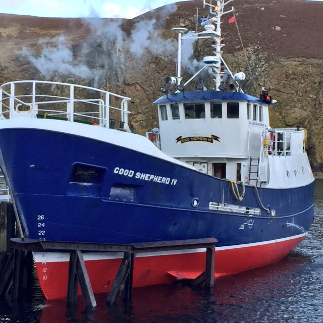 "Shetland Islands Cll on Twitter: ""The #FairIsle ferry, MV Good ..."