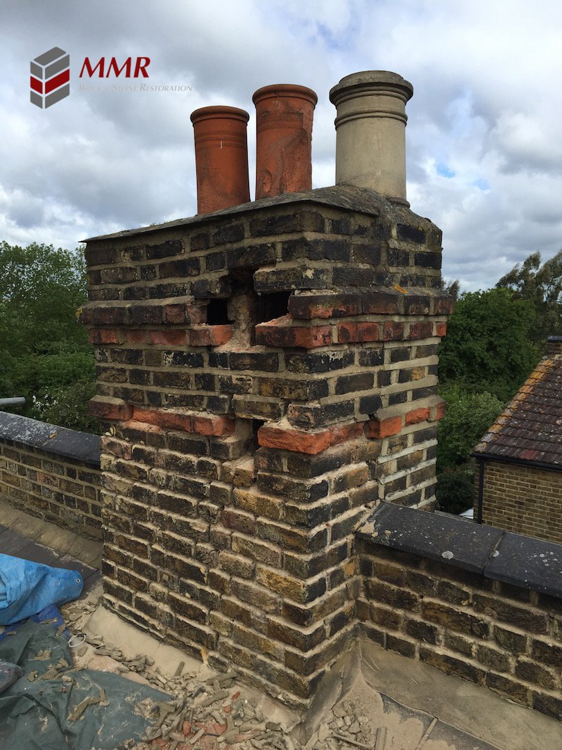 Mmr Pointing London On Twitter Quot Chimney Stack Repair