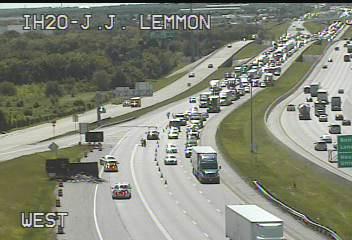 Traffic Alert Dallas Hutchins Eastbound JJ Lemmon left lanes