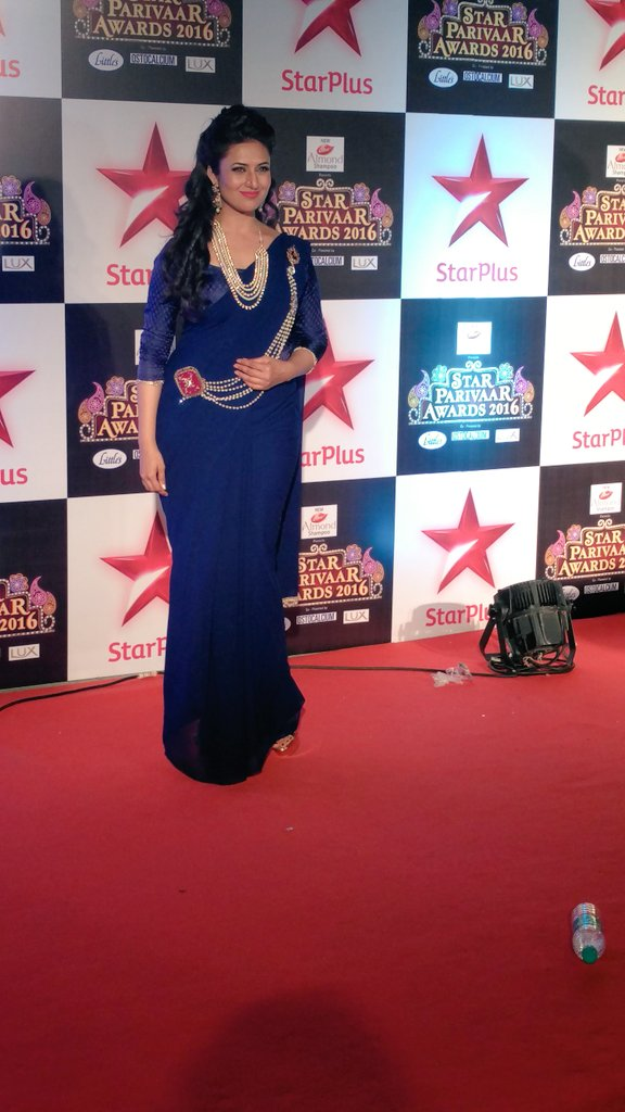 Divyanka Tripathi,Ishhita,Yeh Hai Mohabbatein,Star Parivaar Awards 2016,SPA 2016,image,latest,picture,pic,photos,Star Plus