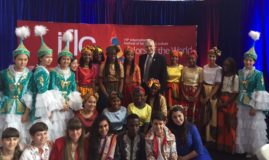 Dropped by to hear young performers at the International Festival of Language and Culture. https://t.co/zQcZsQVUWt