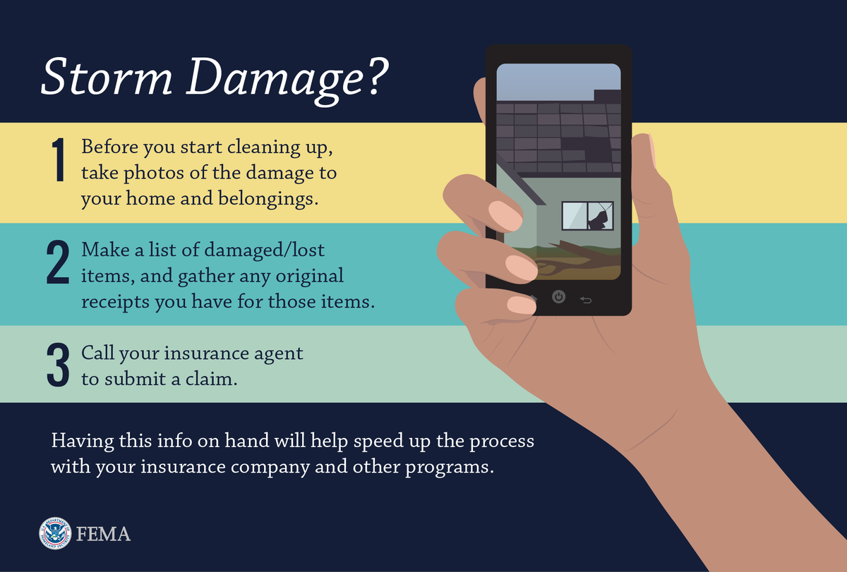 If storms last night/today damaged your property, document it! It'll help your recovery. #okwx #txwx #arwx #lawx https://t.co/LAWUPmitBh