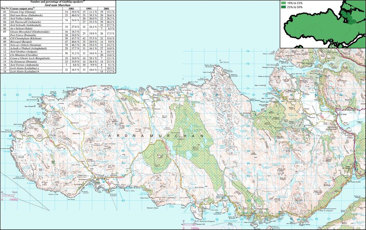 Lochaber Scotland Map.Uk Language Maps On Twitter Gaidhlig Aird Nam Murchan Loch Abar