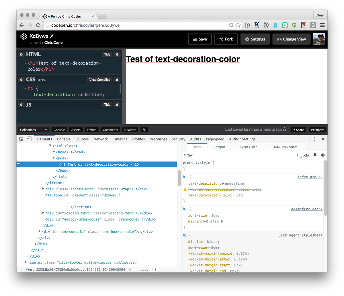Css Tricks On Twitter Still Spotty Support But Text Decoration