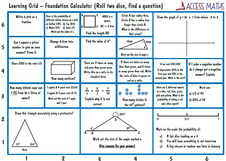 access maths on twitter new 9 1 gcse foundation revision mats for calc non calc added today. Black Bedroom Furniture Sets. Home Design Ideas