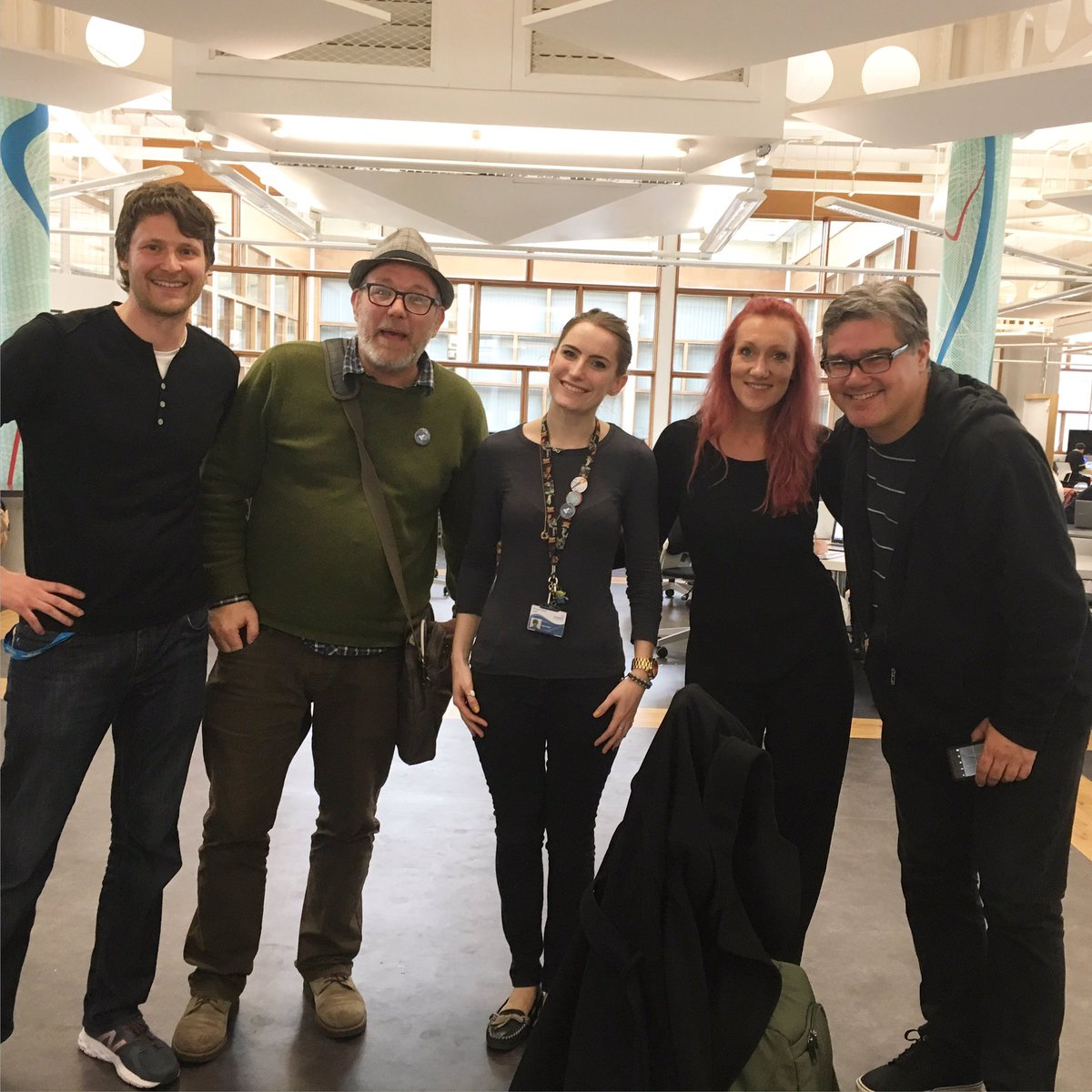 Northern Exposure: keeping it weird with @alexmasters @jimgroom @KateGreen28 @brlamb #dmllexpo https://t.co/BbpuxJL4yL