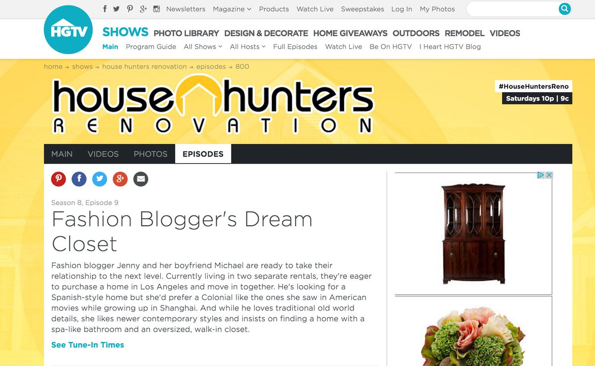 House hunters renovation sweepstakes