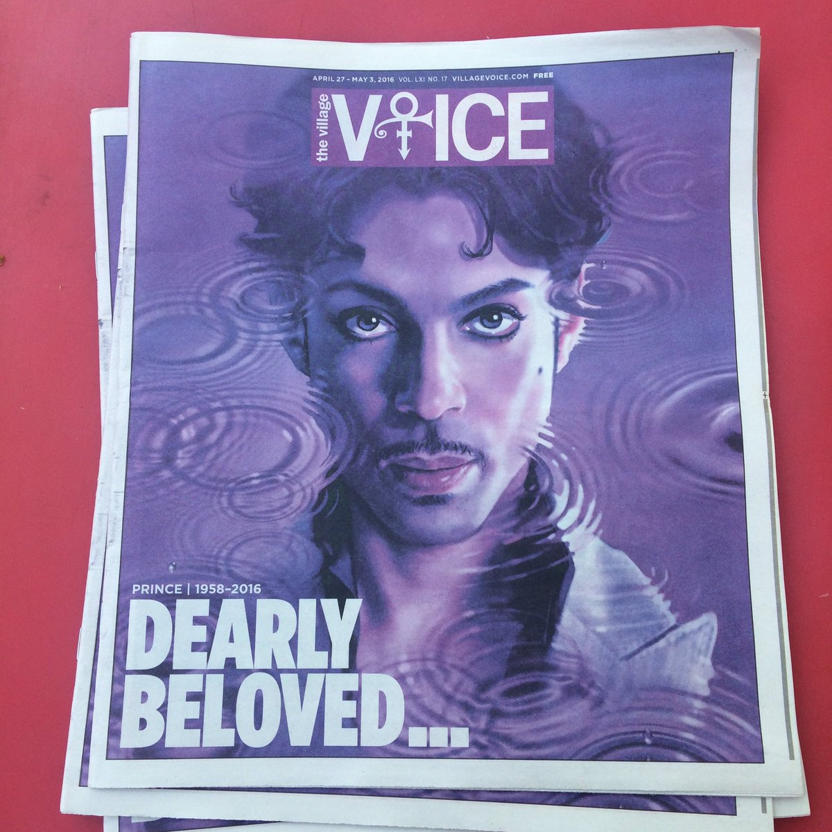 ...we are gathered here today.... #Prince via @villagevoice https://t.co/FL8nf9246U
