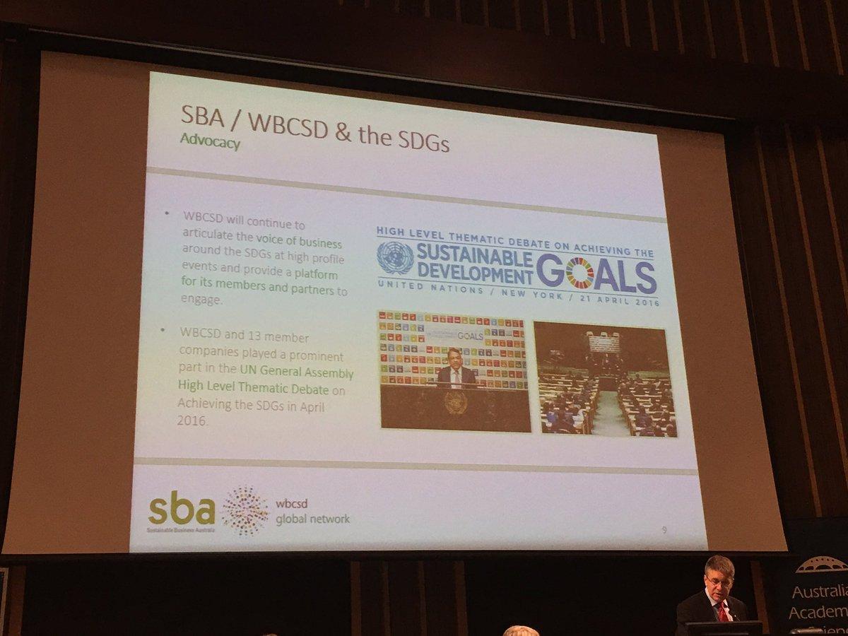 Petersen: #sustainable development goals already underway #FutureEarthOz https://t.co/1h1YE8yols